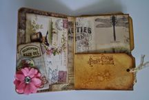 File Folder Mini Album/Journals