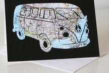 Map Art - California Artists