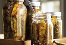 Pickles, preserves and jams