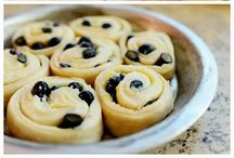 Blueberry lemon sweet roll / Sweet rolls