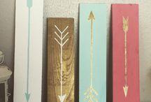 Rustic arrows
