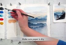 Paint it Watercolor Video's