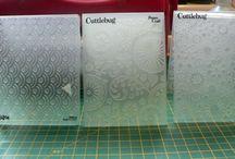 Embossing Folder glitter