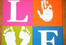 Hand / footprint art