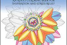 52 Flower Mandalas: An Adult Coloring Book