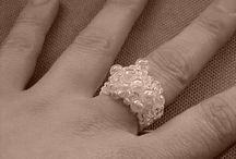 Uncinetto anelli / Crochet ring