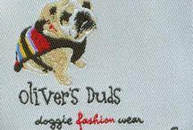 Pet Labels, Dog Tags / Woven Labels for Pet Wear.