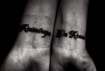 tattoos / by KateLynn Falkenheiner