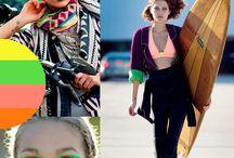 kleuren / inspirerende beelden met kleuren en combinaties die ik kan gebruiken bij het ontwerpen van de lyght collectie
