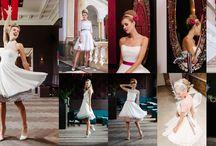 kurze Brautkleider 50er Jahre Petticoat / Hier findest du unsere kurzen Brautkleider im Stile der 50er Jahre, bei denen du mit Petticoat über die Hochzeitstanzfläche wirbeln kannst – Achtung Suchtgefahr ;-)!