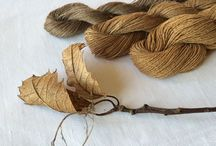 Natural Dye using local plants
