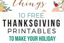 Simple + Healthy Thanksgiving / Thanksgiving recipes, ideas, and tips that are simple to do. Keeping the holiday relaxed and stress-free, spending more time with family, and focusing on what's important.
