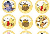 Decoração winnie de pooh