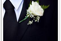 White buttonholes