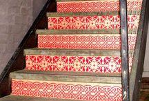 Stair stencils