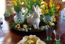 mesa de Páscoa