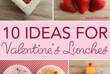 Lunchbox Love / Valentine's Day Meal Ideas
