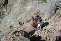 Picos de Europa / El Club GR10 se fué a Los Picos de Europa, que pertenece a la parte central de la cordillera Cantábrica y en ella destacan sus alturas, en muchos casos por encima de los 2.500 metros.