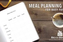 Meal Planning and Preparation Tips / Looking for ideas to get meals on your table with more ease? Then here you go!