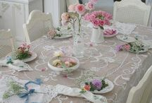 Shabby Chic Dining Room / by Keren Nguyen