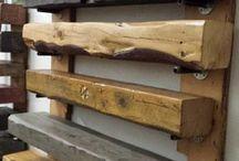 Rutic wood