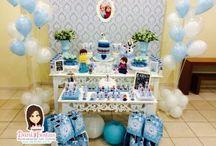 Festa Frozen / Festas Criativas e Personalizadas você encontra aqui. Procurando fofuras para a sua festa? Na nossa loja tem! http://danifestas.com.br/
