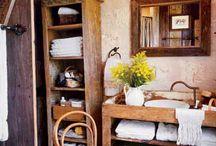Muebles para las casitas / Estanterías