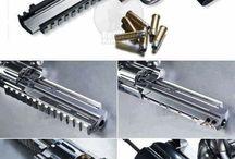 Guns 'n ammo