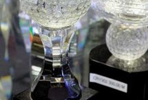 Crystal Awards / Crystal trophies are reserved for recognitions of the highest honor. Luckily, with Lou Scalia's Awards you can choose from an array of designs and sizes that can be customized with your logo and personalized message.