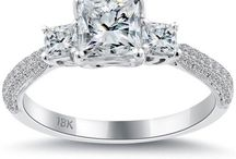 Three Stone Engagement Rings / by Liori Diamonds