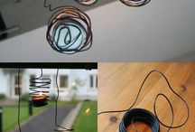 Wire Fascination  / Jewelry and other objects made from wire / by Katrina Halperin