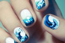 cute nails / by Cari Euritt-Scott