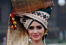 Traditional Costume, Sumatera Island Indonesia