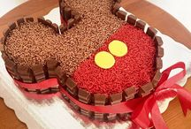 bolos de festa ideias, massas etc
