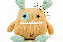 Knitted toys and whimsies