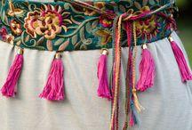 Boho belts