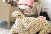 Knitting furniture