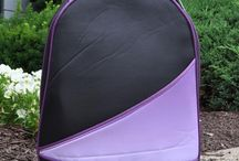 """Greg Norman """"The Color Purple"""" Collection / Ya gotta love the intense blacks and purples of this golf accessory collection by Greg Norman."""