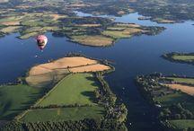 vols en montgolfières dans l'Aveyron 2016 / Une idée cadeau pour un souvenir inoubliable... Osez offrir un vol en montgolfière à la découverte des monts et lacs du Lévézou vus du ciel