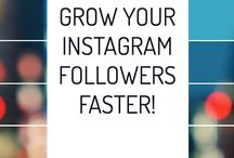Tips For Growing Social Media Followers / Here's how to grow your Instagram, Pinterest, and Facebook followers. Lots of helpful social media tips and tricks for your blog, including how to use the MiloTree.com smart pop-up that's a free WordPress plugin that will grow your following with no effort. Also, lots of tips on how to monetize your blog.
