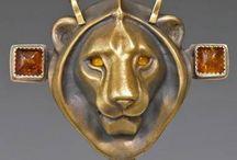Звери в украшениях / Animals in jewelry