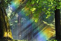 Regenboogkleuren / Regenboog Holibi kleuren  Items uit mijn leven