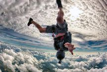 Keep calm and dive... skydive!