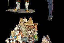 キャラクターデザイン  character design