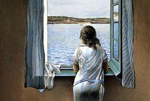 vis arts painting