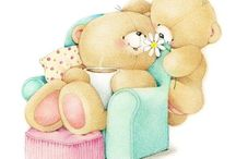 Tatty teddy and forever friends