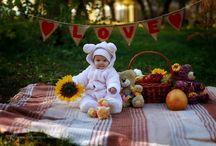 дети осень