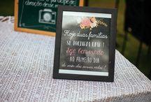 WEDDING SIGNS - PLAQUINHAS
