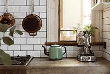 Industrial-style kitchens