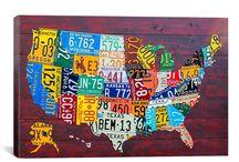 David Bowman: Licensed Artist Series / Re-purposing old license plates, David Bowman's charming retro artwork is used in our checks, address labels, and checkbook covers. If you're a fan of his work, pin it here! Check out his website. http://www.designturnpike.com/. / by CheckAdvantage LLC
